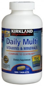 Kirkland Multi Vitamins and Minerals
